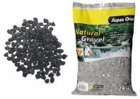 Aqua One Natural Gravel Phantom Black 2kg