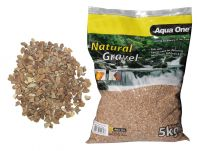 Aqua One Natural Gravel Layered Brown 5kg