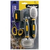 Pet One Small Animal Grooming Care Kit