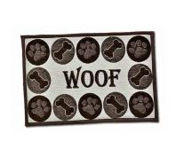 Loving Pets Woof Dog Feeding Mat