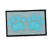 Loving Pets Paw Print Dog Feeding Mat