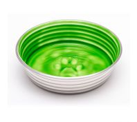 Loving Pets Le Bol Cat Bowl Chartruese Green