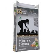 Meals For Mutts Grain Free Turkey & Chicken Lge Bite Puppy Food