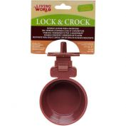 Living World Small Animal Lock Lock & Crock Dish