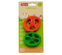 Living World Small Animal Crunchy Capsicum Loofah 2 Pack