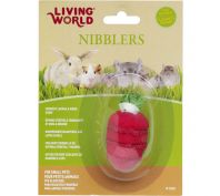 Living World Small Animal Wood Loofah Strawberry