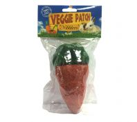 Veggie Patch Small Animal Nibblers Large Carrot 14 x7cm 1 Pack