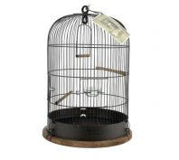 Zolux Retro Lisette Bird Cage Black