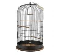 Zolux Retro Marthe Bird Cage Black