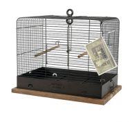 Zolux Retro Celestine Bird Cage Black