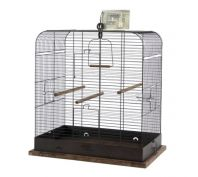 Zolux Retro Madeleine Bird Cage Black