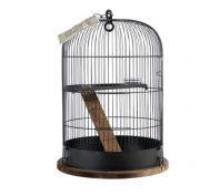 Zolux Retro Albert Bird Cage Black