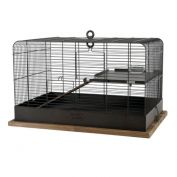Zolux Retro Fernand Bird Cage Black