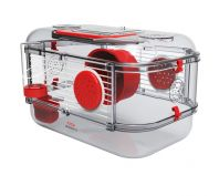 Zolux Rody 3 Small Animal Cage Mini Red