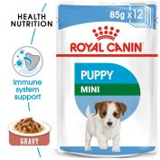 Royal Canin Canine Mini Puppy Wet Dog Food 12x85g