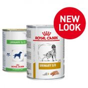 Royal Canin Veterinary Diet Urinary S/O Dog Food 12x410g