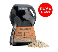 Rufus & Coco Wee Kitty Clumping Corn Cat Litter 4kg/8L