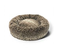 Snooza Cuddler Leopard Dog Bed