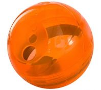 Rogz Tumbler Treat Dispensing Dog Toy Orange