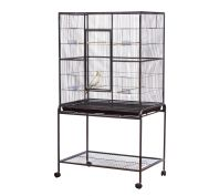 Bono Fido Deluxe Flight Bird Cage with Stand 77 x 46 x 160cm