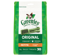 Greenies Dental Dog Treats Mega Pack Petite 510g