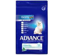 Advance Dental Adult Cat 3kg Chicken