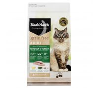 Black Hawk Cat Food Grain Free Chicken & Turkey