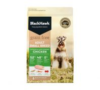 Black Hawk Dog Grain Free Small Breed Chicken Dog Food
