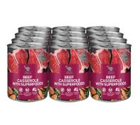 Billy & Margot Beef Casserole Superfood Blend Dog Canned Food 12x400g