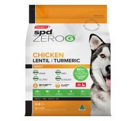 Prime100 ZeroG SPD Chicken Lentil & Turmeric Adult Dry Dog Food