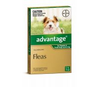 Advantage Flea Treatment for Small Dogs 0-4kg