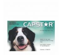 Capstar Flea Treatment Tablet 57mg Pack of 6
