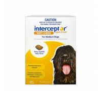 Interceptor Spectrum Tasty Chews for Medium Dogs Pack of 6