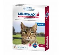 Milbemax for Cats over 2kg 2 Pack