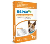 Rspca Monthly Heartwormer Large Dogs 6 Pack