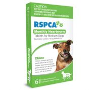 Rspca Monthly Heartwormer Medium Dogs 6 Pack