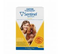 Sentinel Spectrum Tasty Chews for Medium Dogs 11-22kg