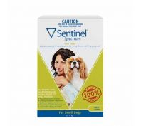 Sentinel Spectrum Tasty Chews for Small Dogs 4-11kg
