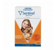 Sentinel Spectrum Tasty Chews for Very Small Dogs Up to 4kg