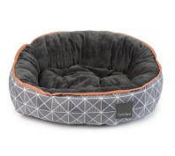 FuzzYard MidTown Dog Beds Grey & White