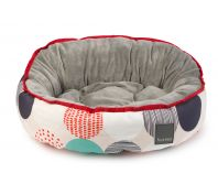 FuzzYard Palm Springs Dog Bed Multicolour Round Spots