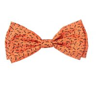 FuzzYard Bowtie Safari Orange Large
