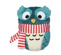 FuzzYard Christmas Owl Dog Toy
