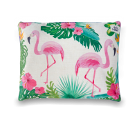 Indie Boho Flamingo Reversible Cushion Pet Bed