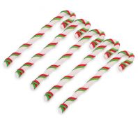 Kazoo Christmas Rawhide Pack of 5 Lace Candy Cane