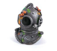 Kazoo Aquarium Ornament Divers Helmet With Air Medium