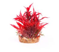 Kazoo Aquarium Bush Red With Assorted Leaf Small