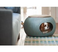 Curver Cozy Pet Home Dog Bed Grey