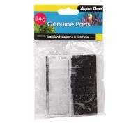 Aqua One ClearView 100 Cartridge Carbon 2 Pack 54c