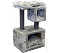Pet One Cat Scratching Tree Climbing Cubes With Post